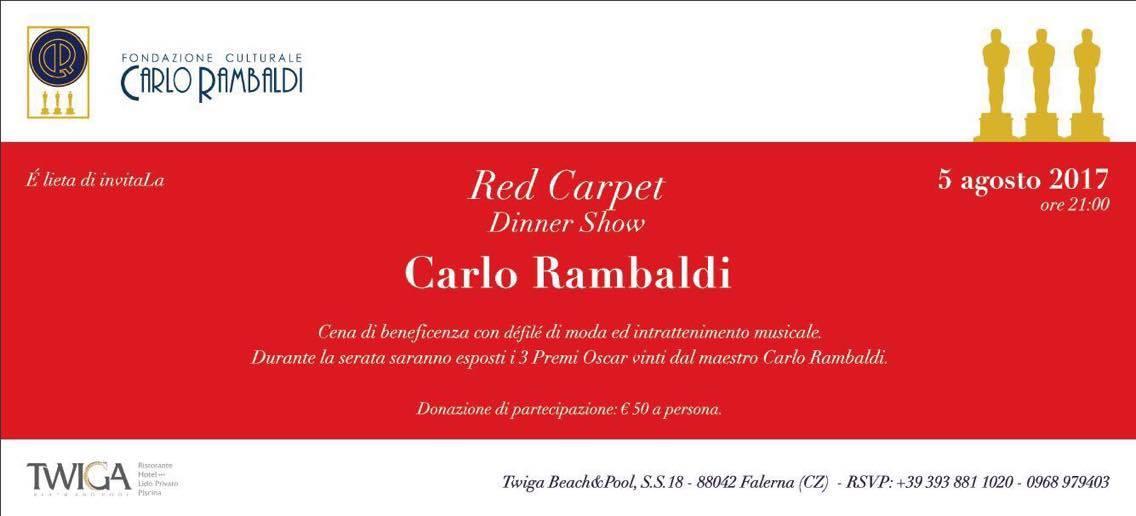 Esclusiva Mondiale  Carlo Rambaldi