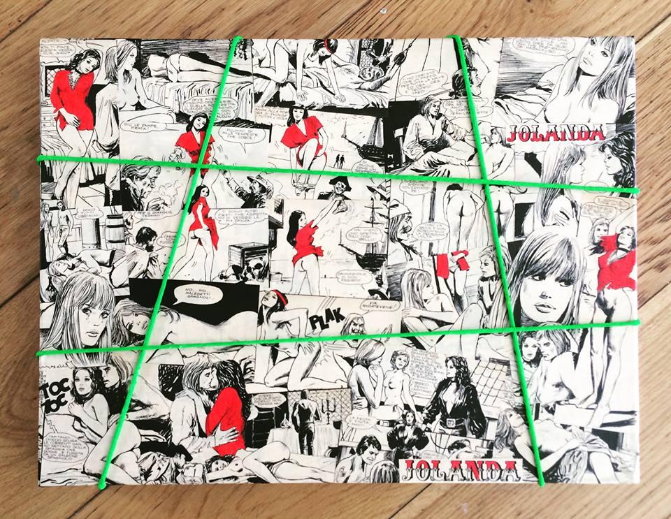 Un Ri-Collage che Adoro… Milo Manara 1972